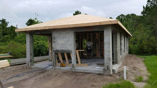 Tiny Home - Englewood Florida - Under Construction