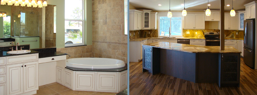 Englewood, FL Kitchen and Bathroom Remodeling - R.J. LaBadie ...