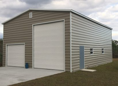 30x40x16 Steel Garage for RV, Car and Boat Storage