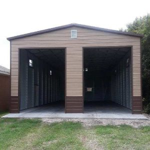 Double RV Garage American Steel