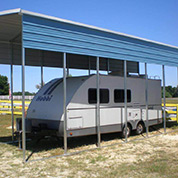 Carport for an RV